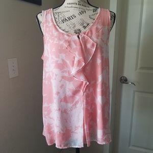New York & Company Sleeveless Shirt